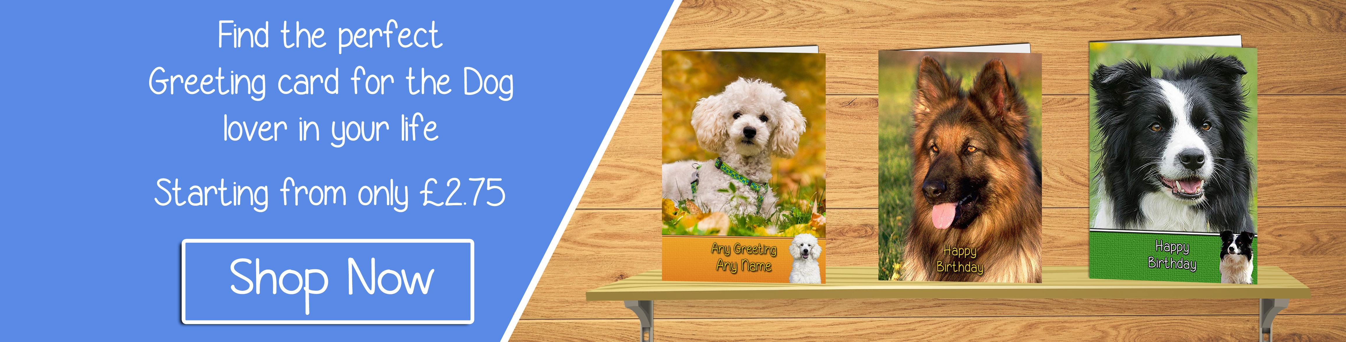 Dog Greeting Cards